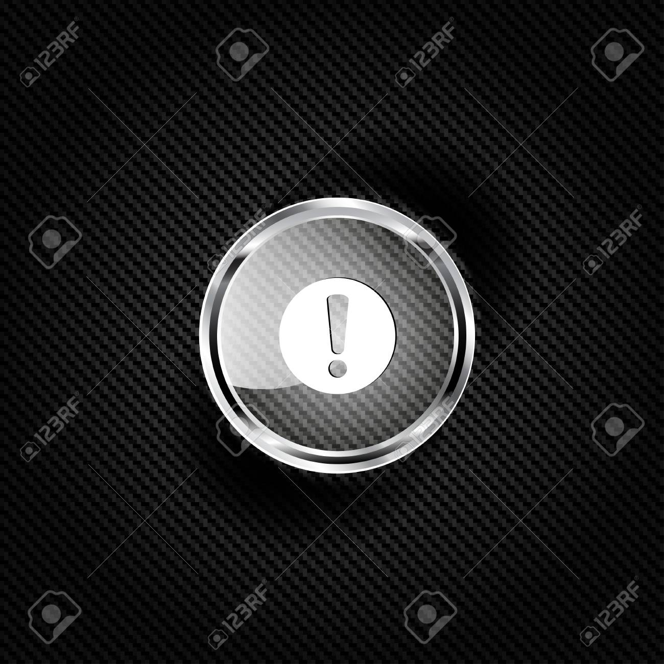 Exclamation danger web icon Stock Vector - 23009657