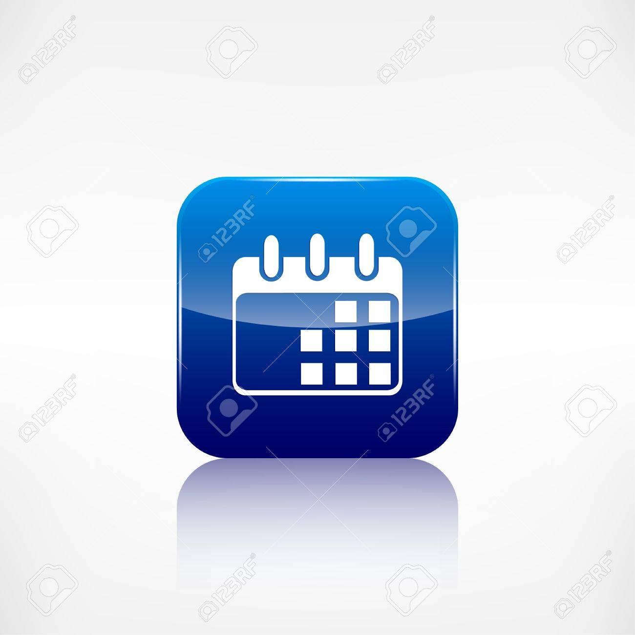 Calendar Organizer Icon. Date Symbol Royalty Free Cliparts ...