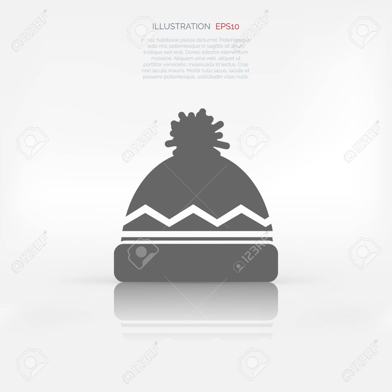 812008a9c18 Winter Snowboard Cap Icon Royalty Free Cliparts