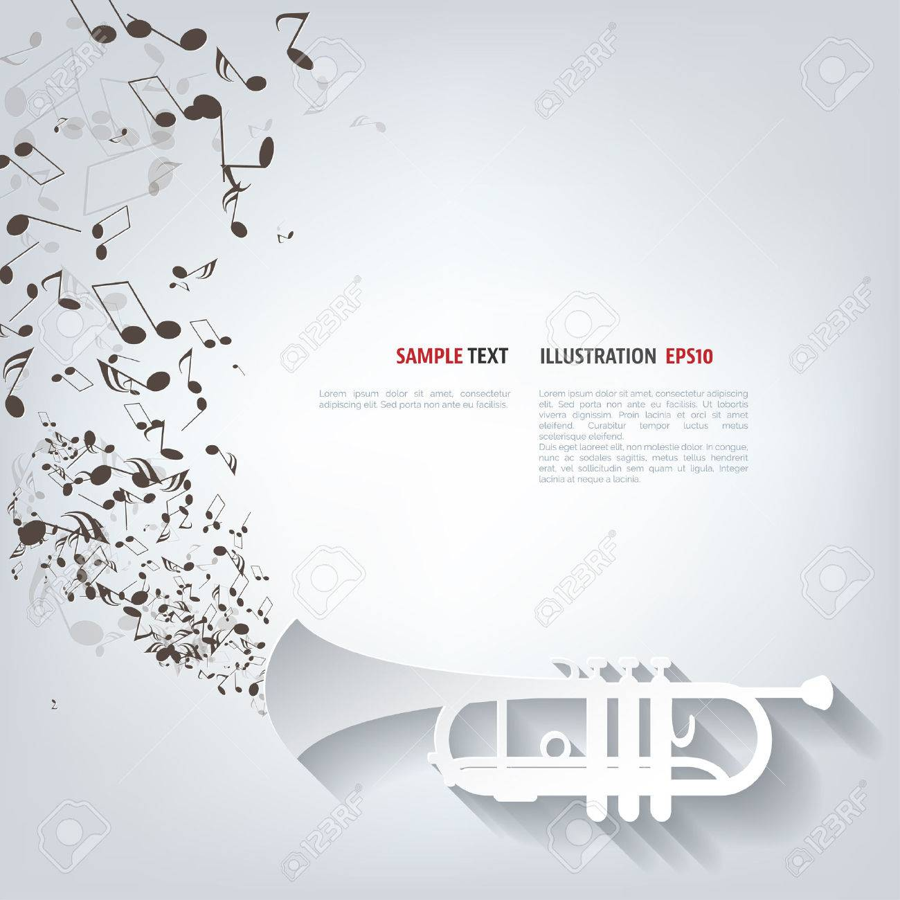 Music wind instruments icon - 38105976