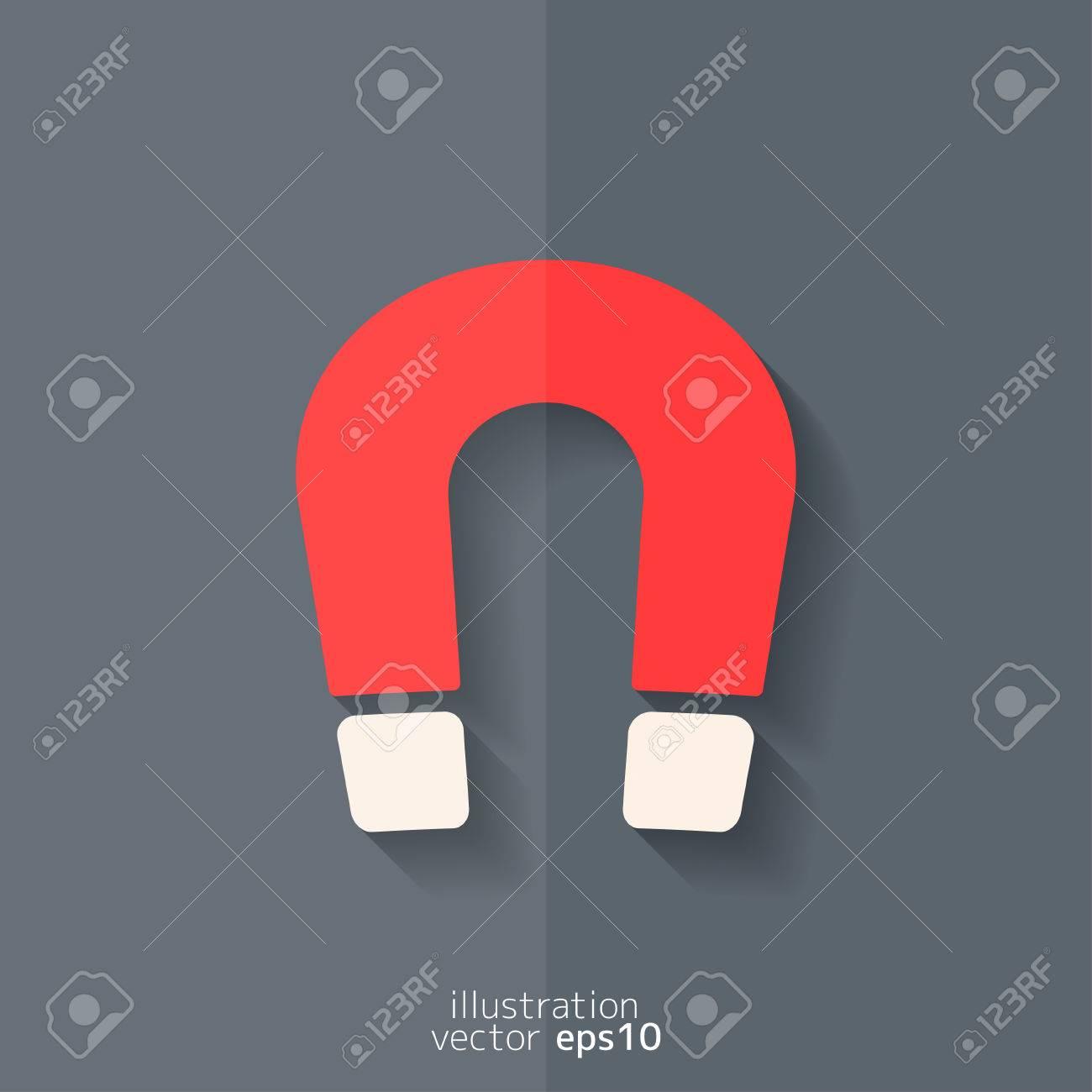 Magnet Symbol. Electromagnetism Symbol Royalty Free Cliparts ...