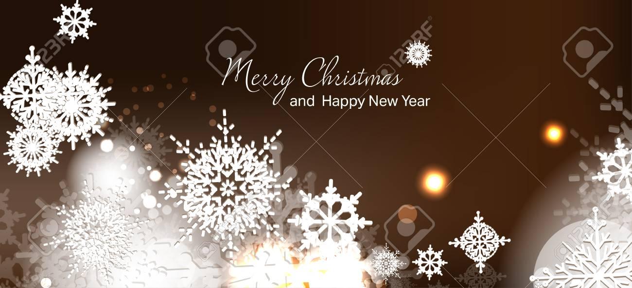 Illustration Vectorielle Carte De Noël. Nouvel An. Vacances D