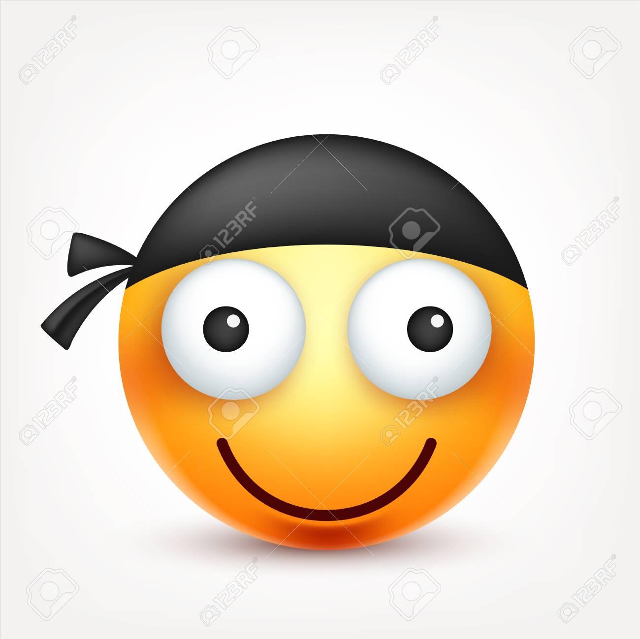 Smiley émoticône Visage Jaune Avec émotions L Expression Du Visage Emoji 3d Réaliste Caractère De Dessin Animé Drôle Bonne Qualité Icône Web