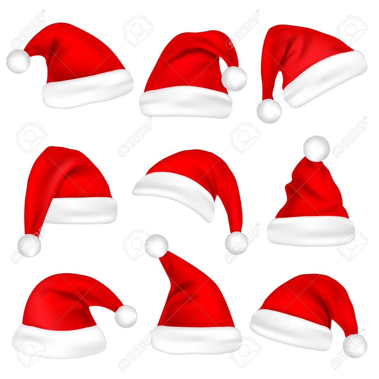 Christmas Santa hats. - 88397637