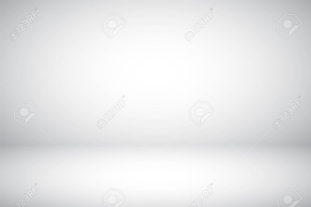 Empty gray studio abstract background with spotlight effect. Product showcase backdrop - 136914315
