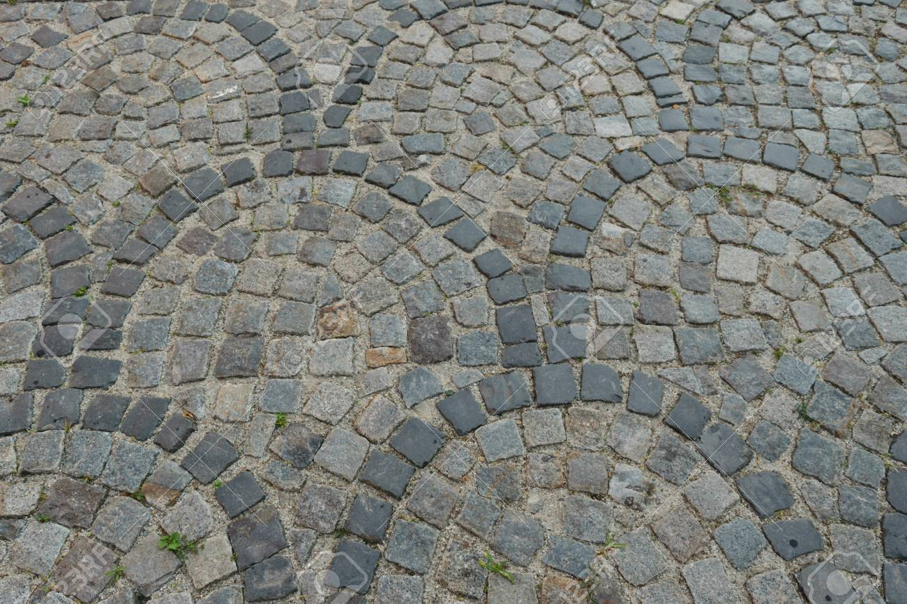 worn cobblestone pavement walkway pattern stock photo picture and