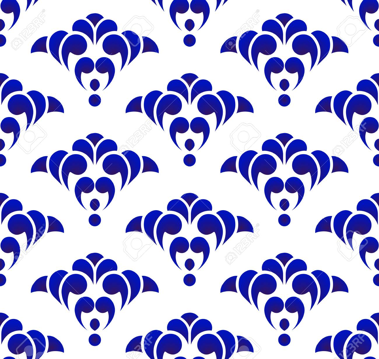 Chinese Pattern Ceramic Blue And White Modern Background Design Royalty Free Cliparts Vectors And Stock Illustration Image 119952984