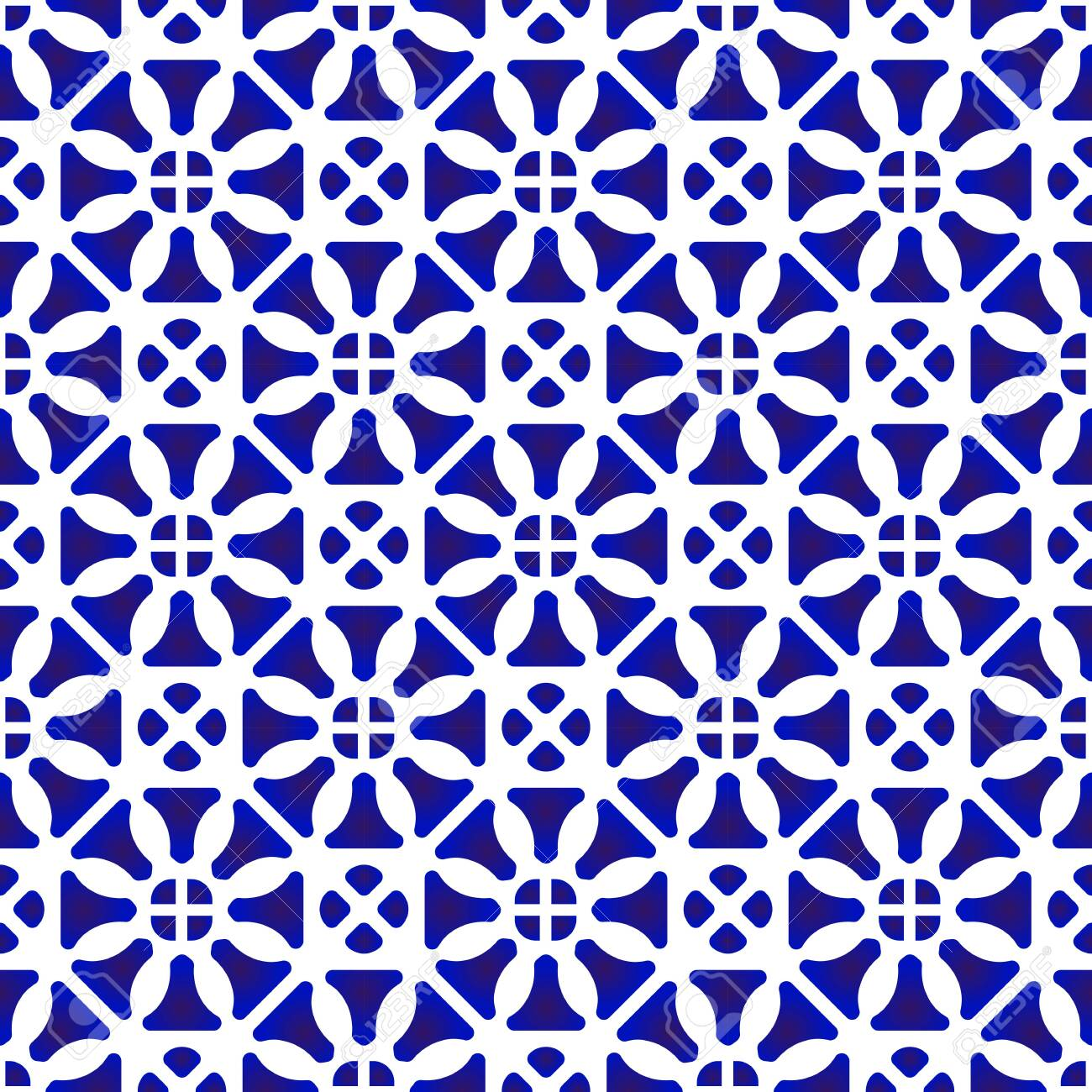 Porcelain China Pattern Chinese Ceramic Background Blue And Royalty Free Cliparts Vectors And Stock Illustration Image 123745584