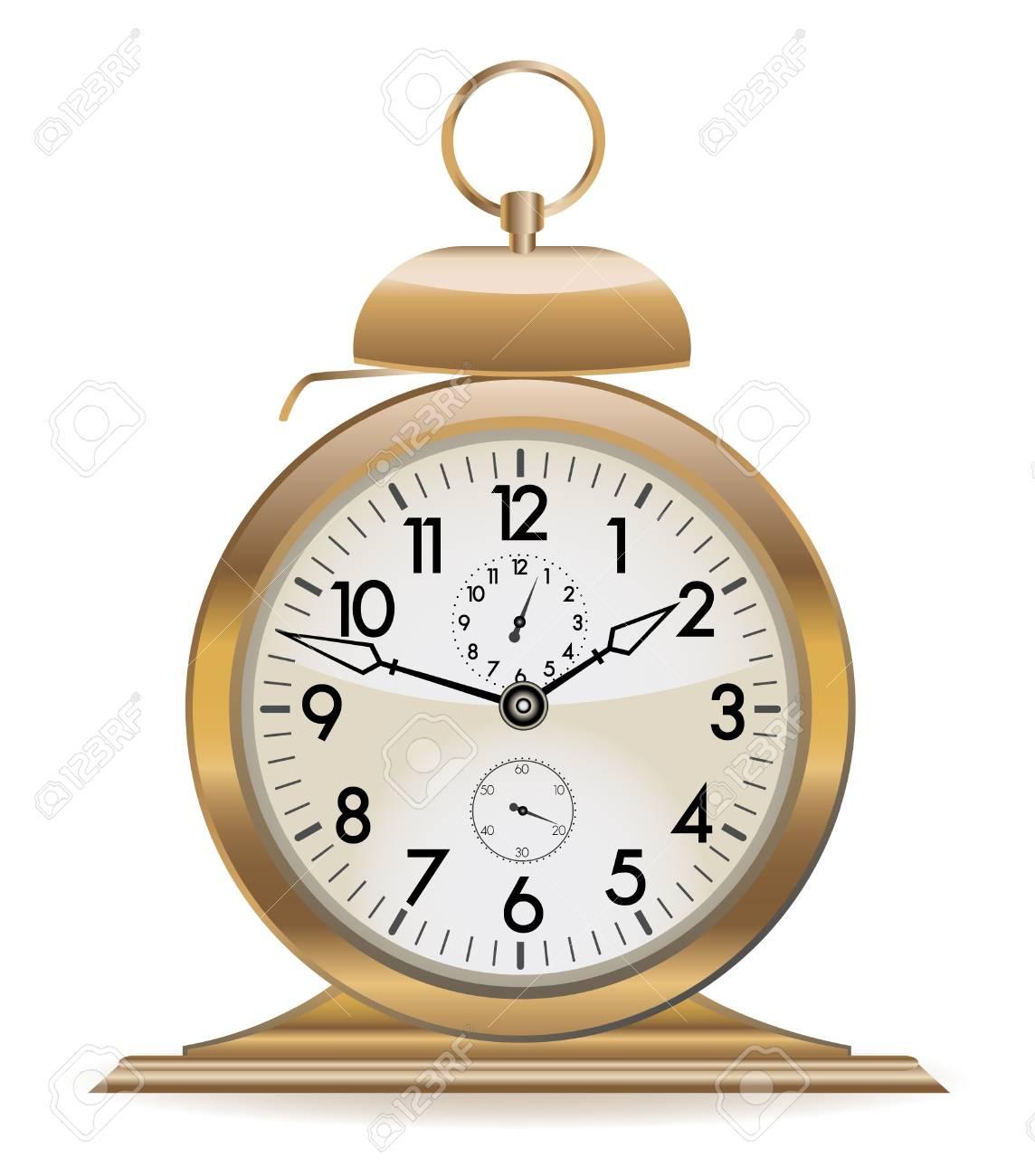 retro alarm clock Stock Vector - 7862065
