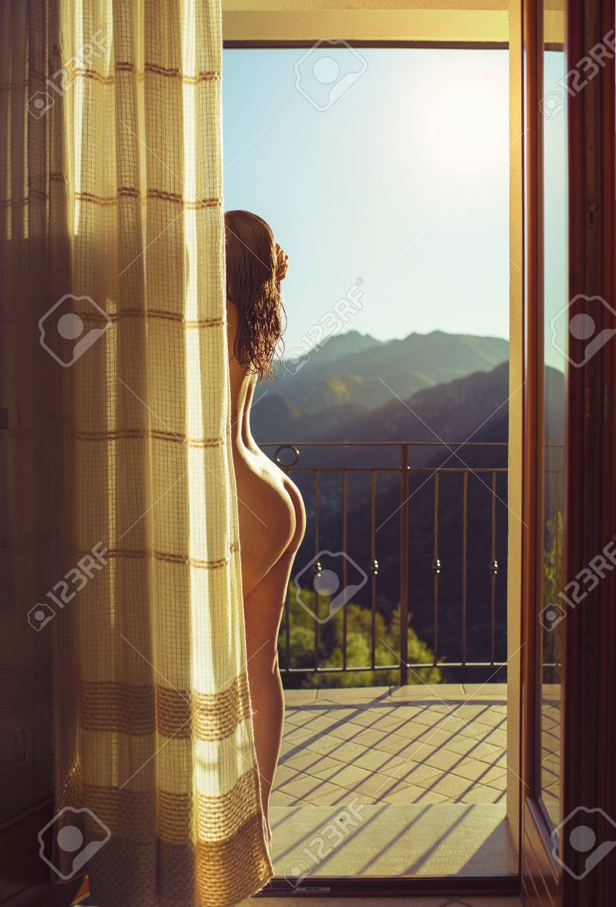 naked girl on balcony Nude Pictures Of Naked Female On The Balcony