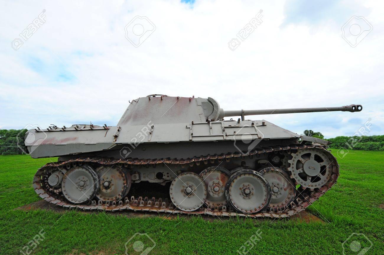 German Panzer Kampfwagen V G Panther II Medium Tank from World
