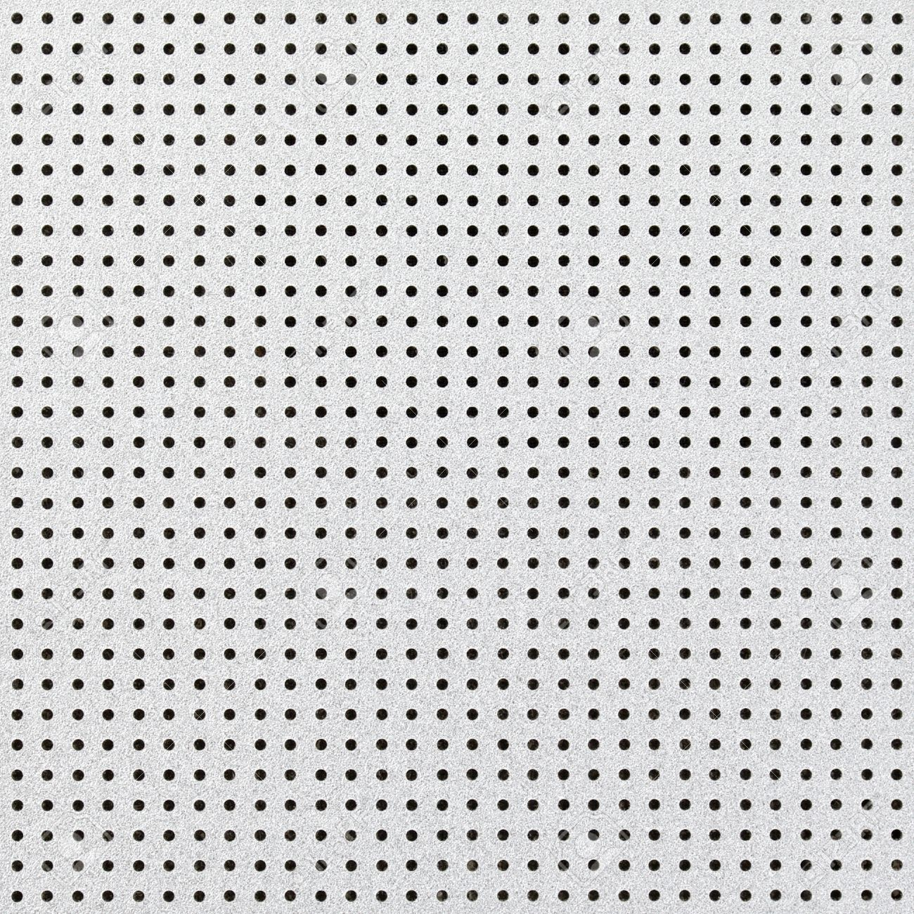 Close Up Shot Of Aluminium Holed Or Perforated Grid Texture ...