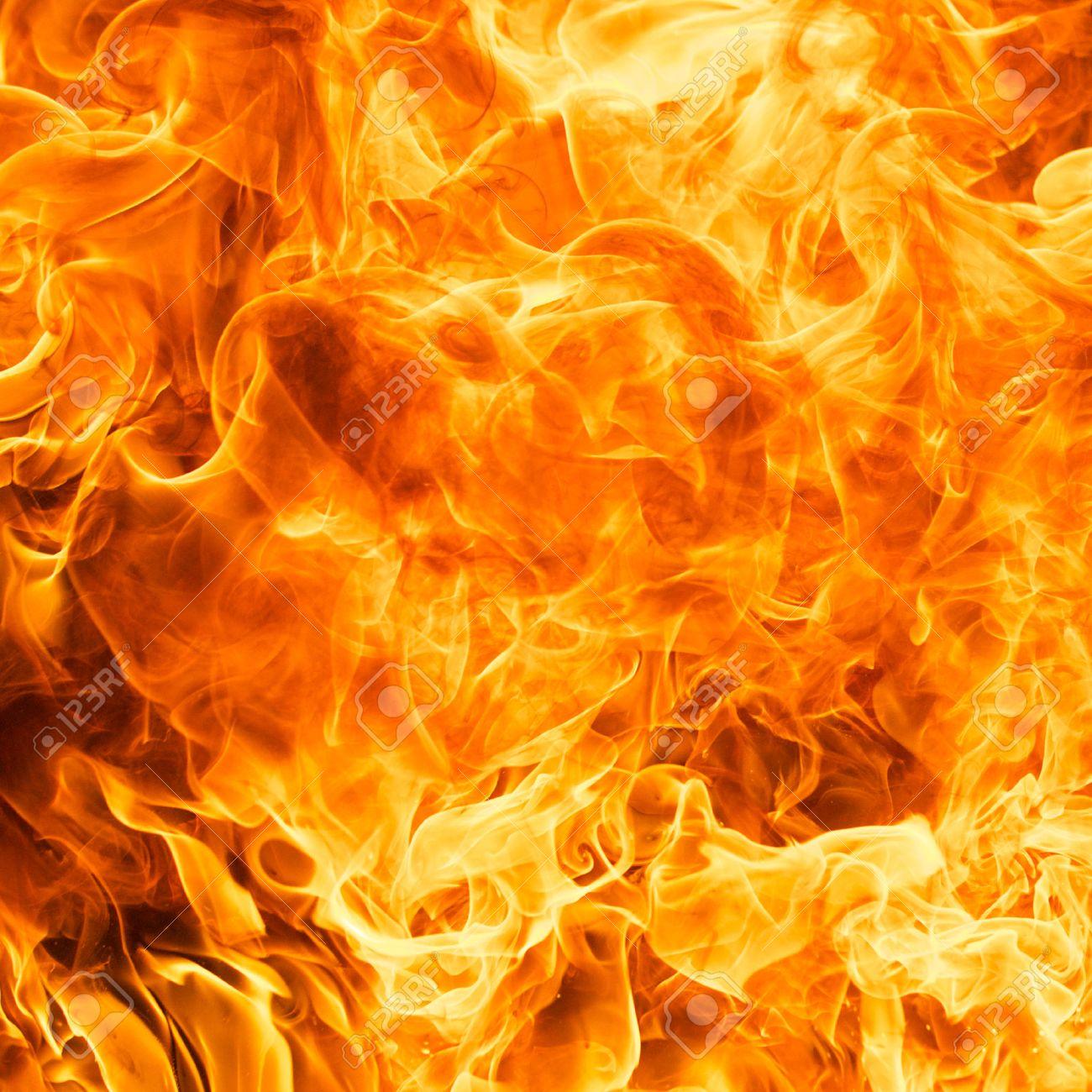 炎火の炎のテクスチャ背景 の写真素材・画像素材 Image 41972309.