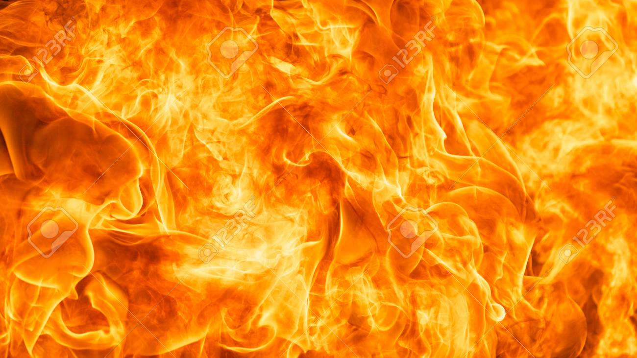 abstract blaze fire flame texture background in HD ratio, 16x9 Stock Photo - 75466347