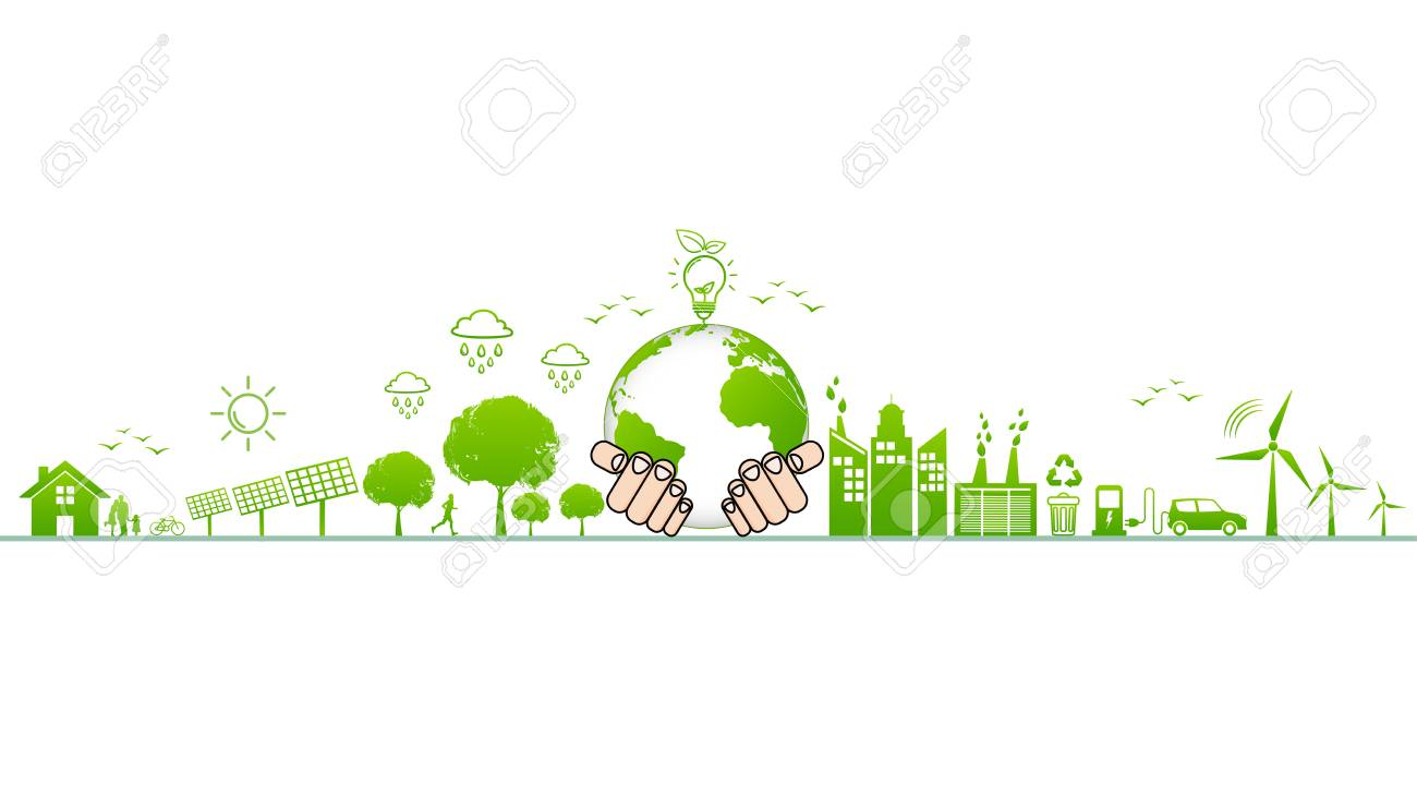 World Environment And Sustainable Development And Ecology Friendly