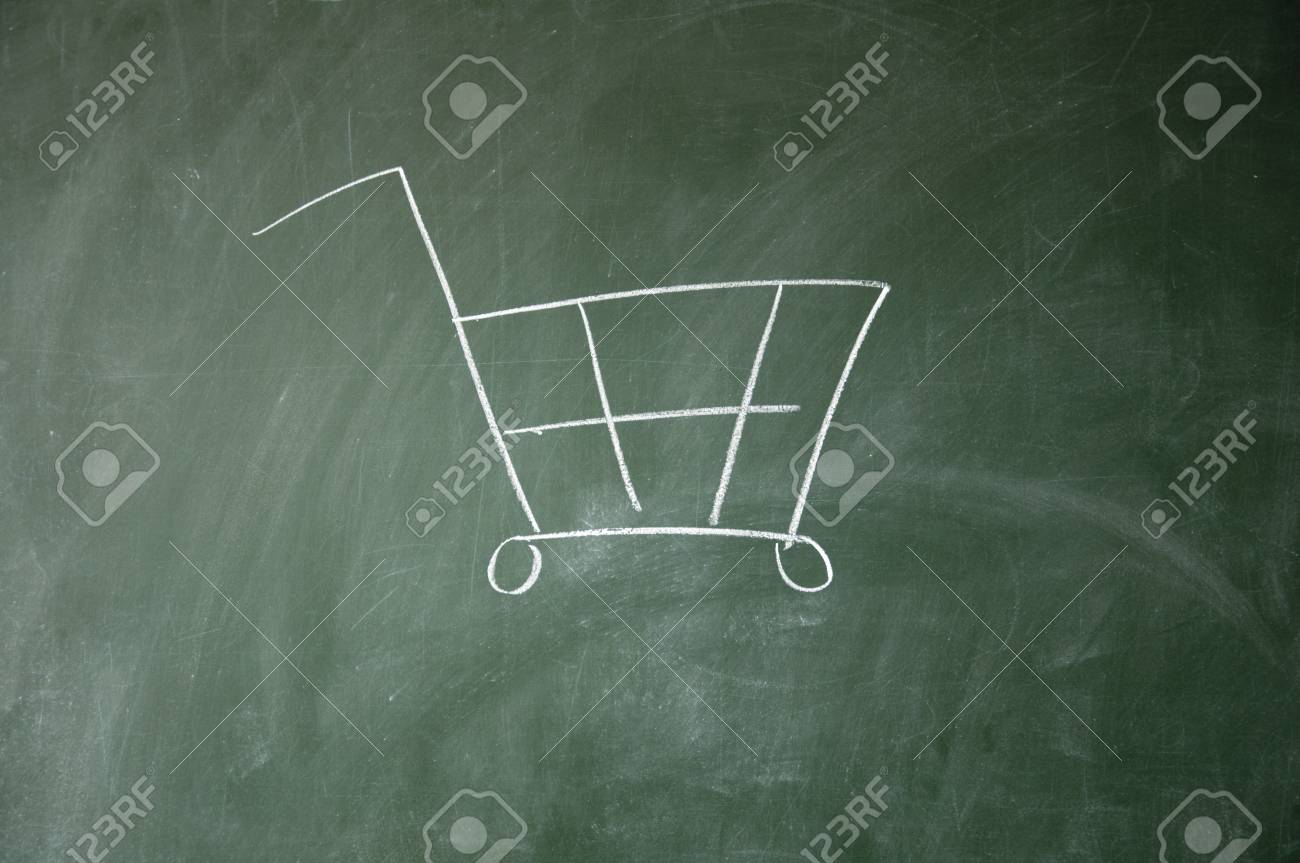 shopping cart Stock Photo - 11164349
