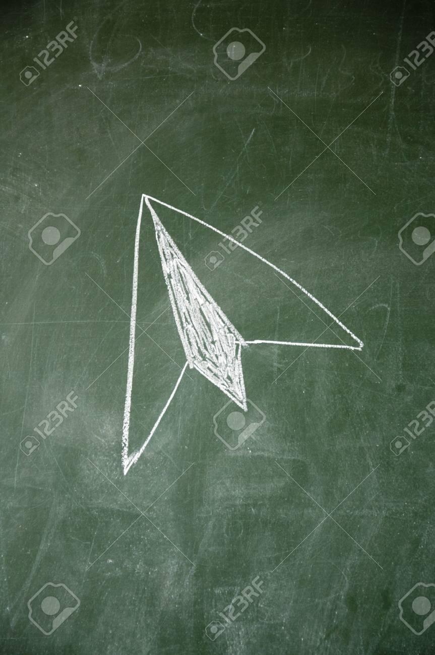 Paper airplane Stock Photo - 11793136