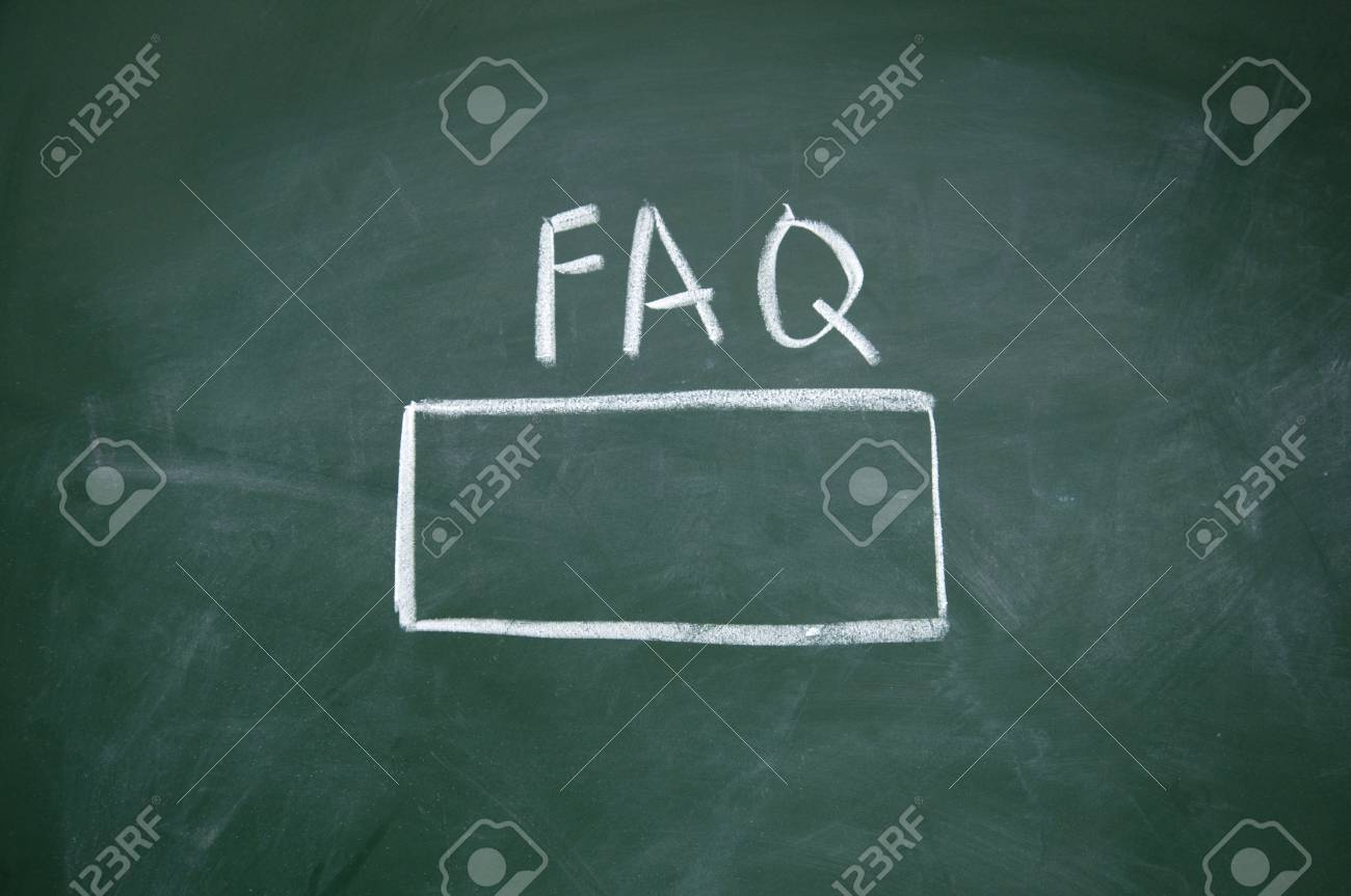 FAQ search title Stock Photo - 13011591