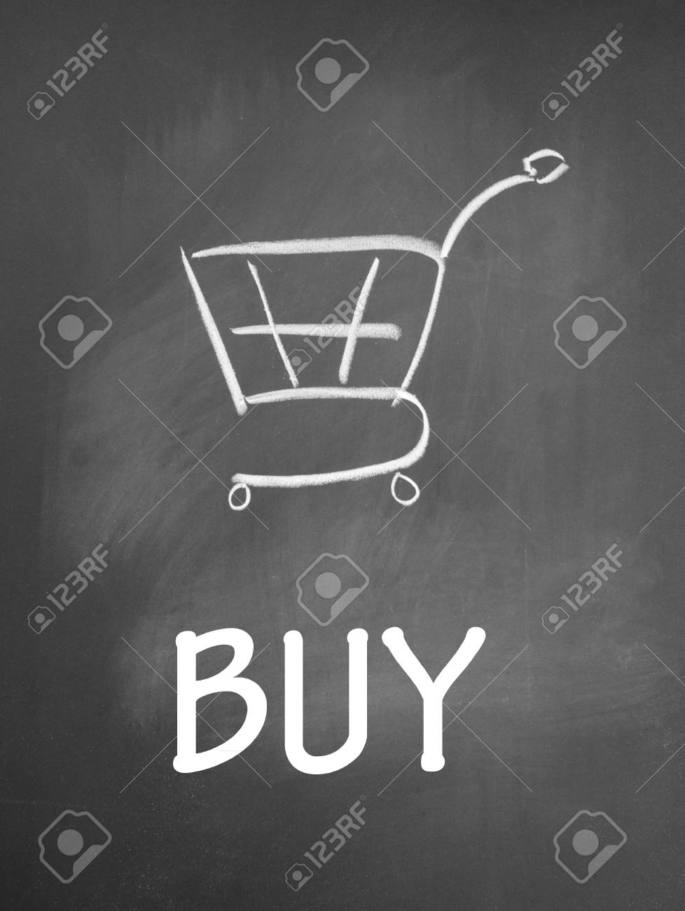 buy and shopping chat  symbol Stock Photo - 13712200