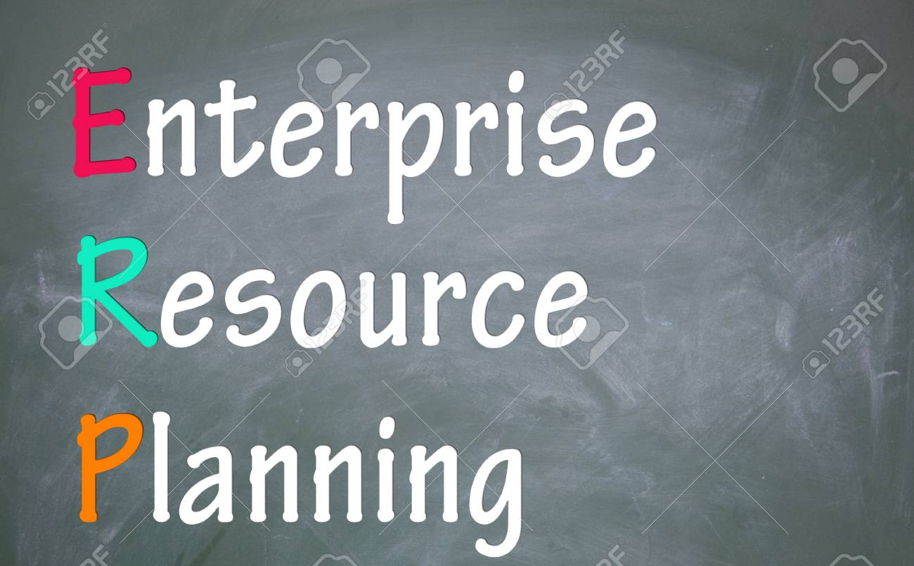 enterprise resource planning title Stock Photo - 13792977