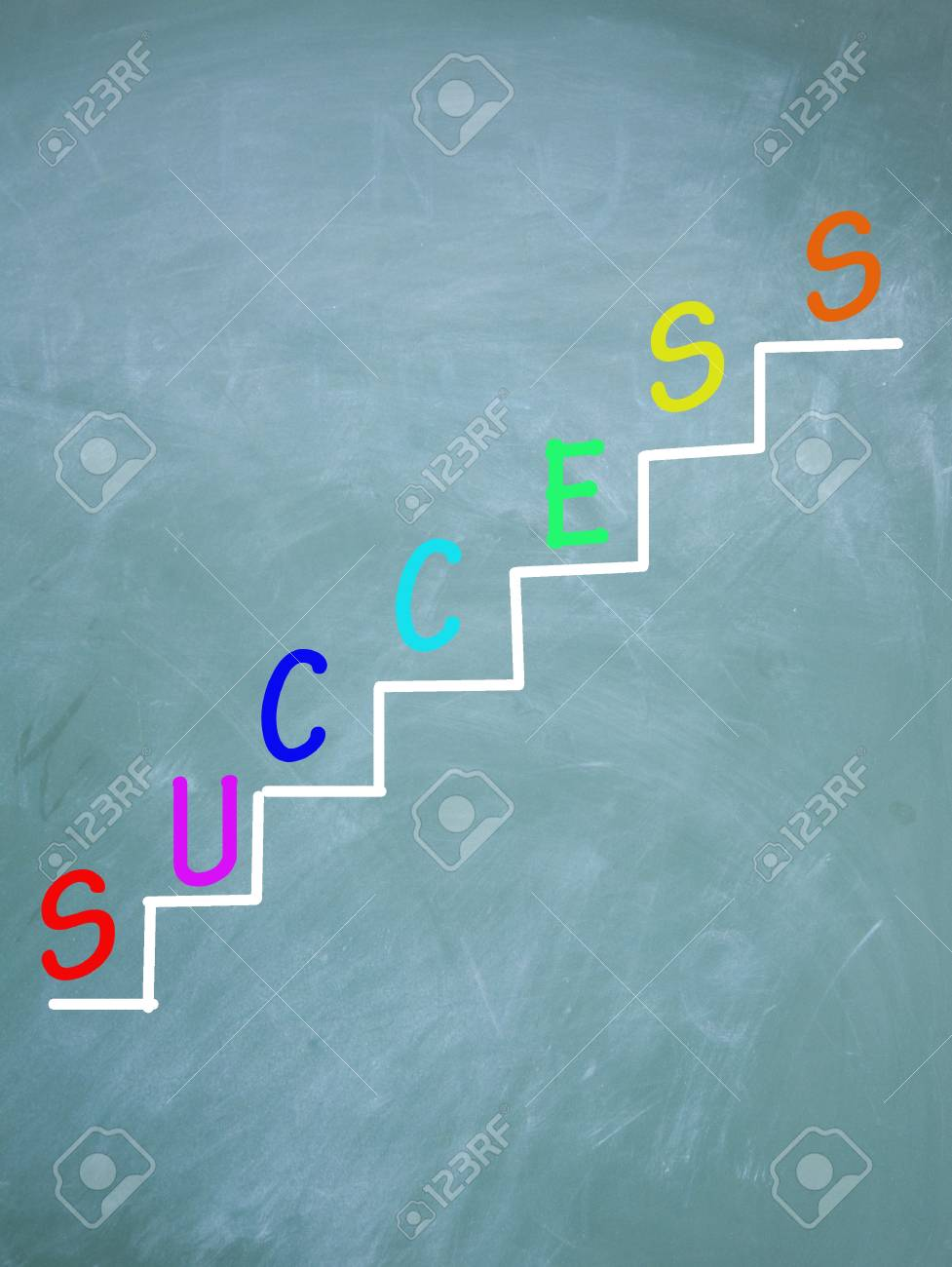 The ladder of success Stock Photo - 13852987