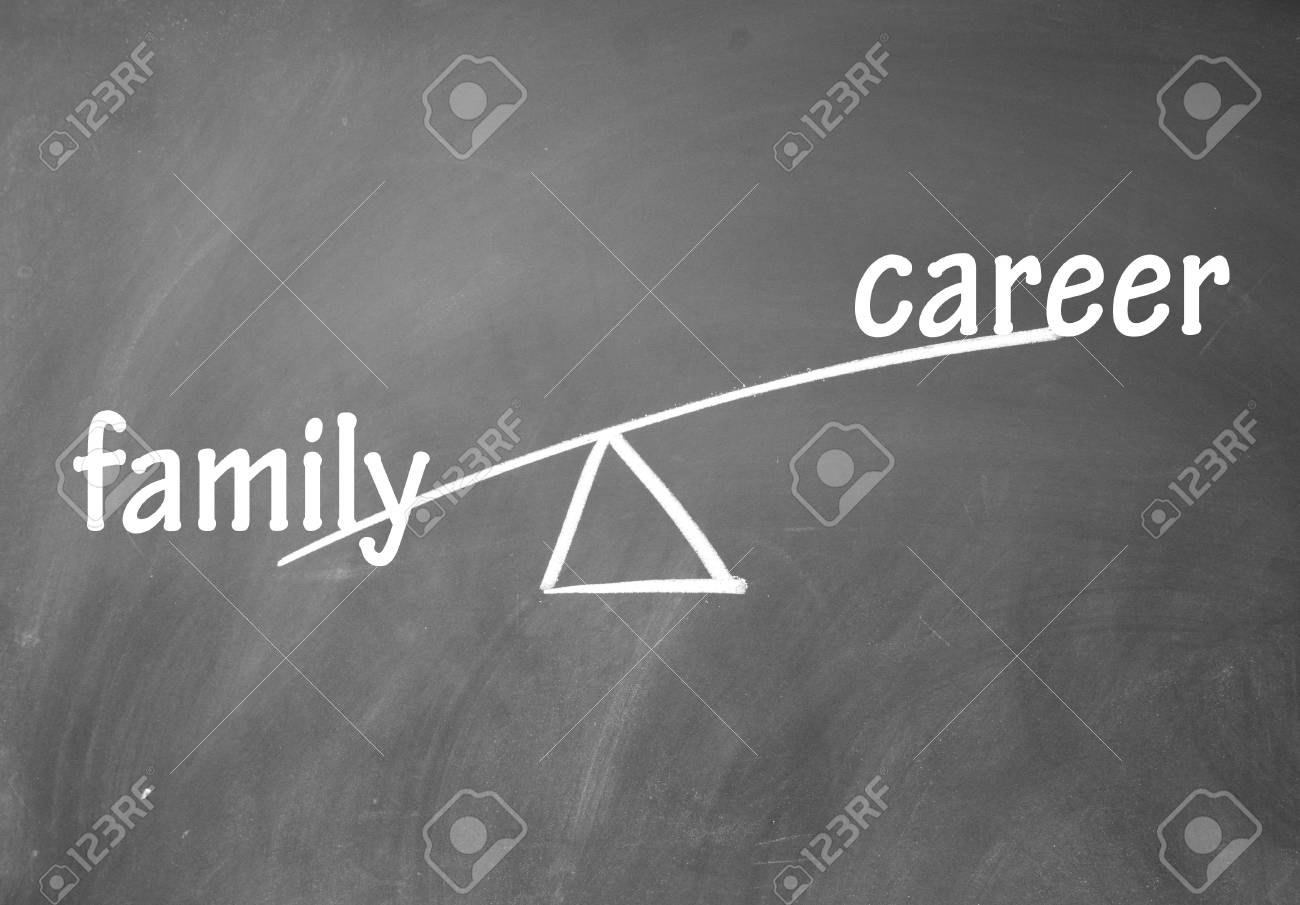 family and career choice Stock Photo - 13851830