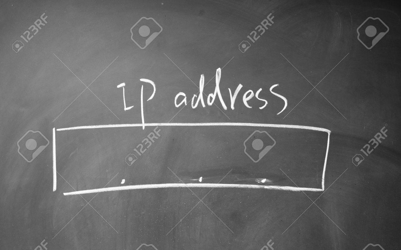 ip address symbol Stock Photo - 14380451