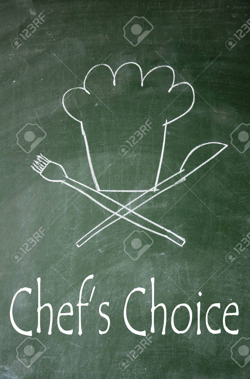 chef s choice symbol Stock Photo - 14692367