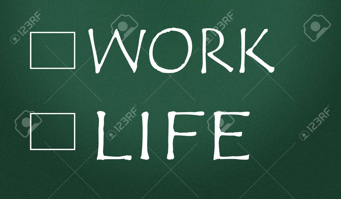 work or life choice Stock Photo - 14828194