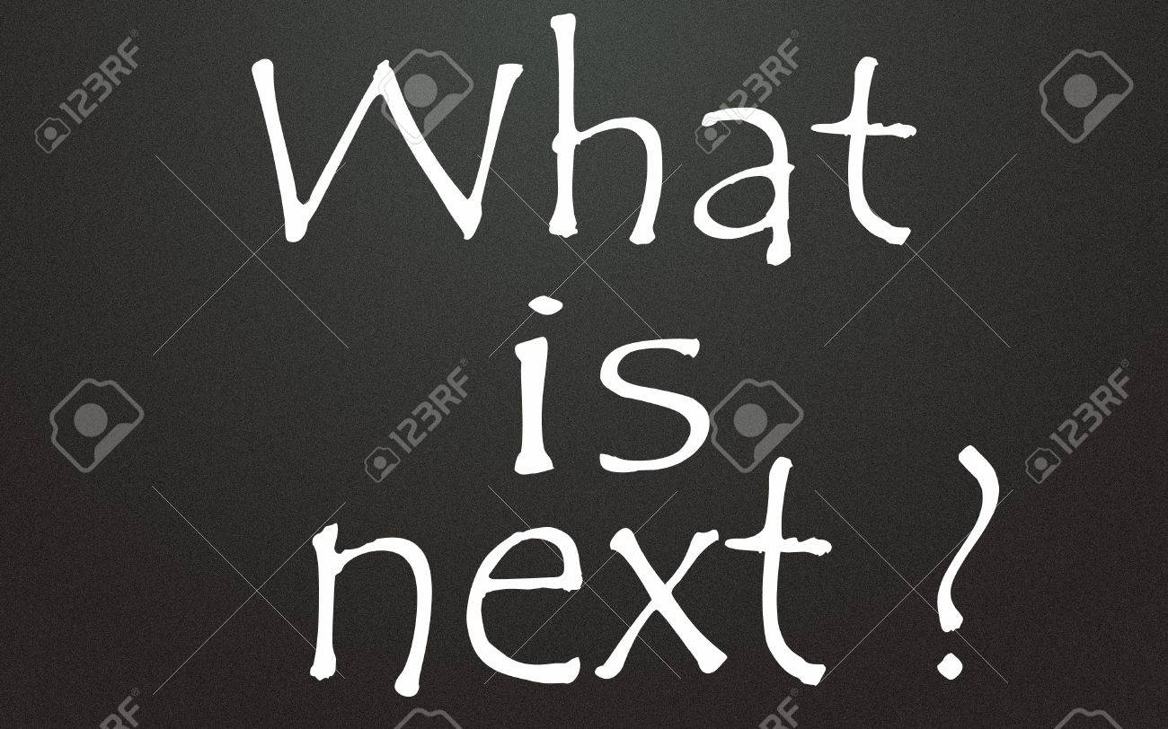 what is next title Stock Photo - 14995619