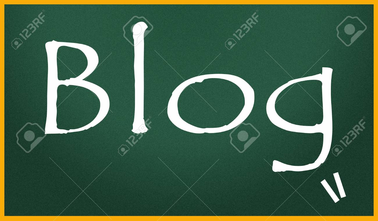 blog title Stock Photo - 14992612
