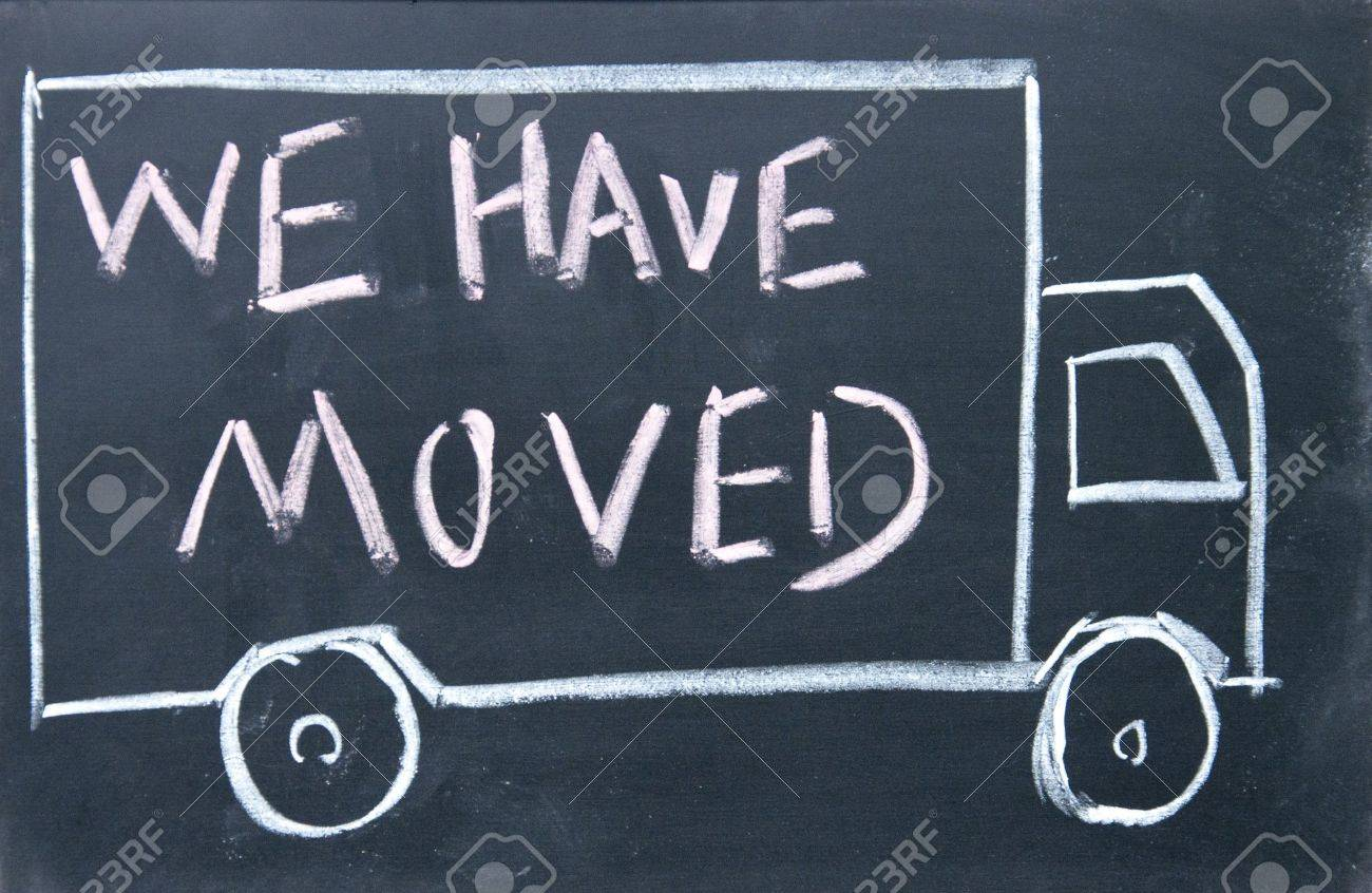 We Have Moved Sign Stock Photo, Picture And Royalty Free Image ...