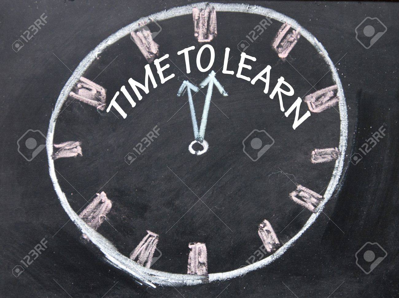time to learn clock sign - 18850042