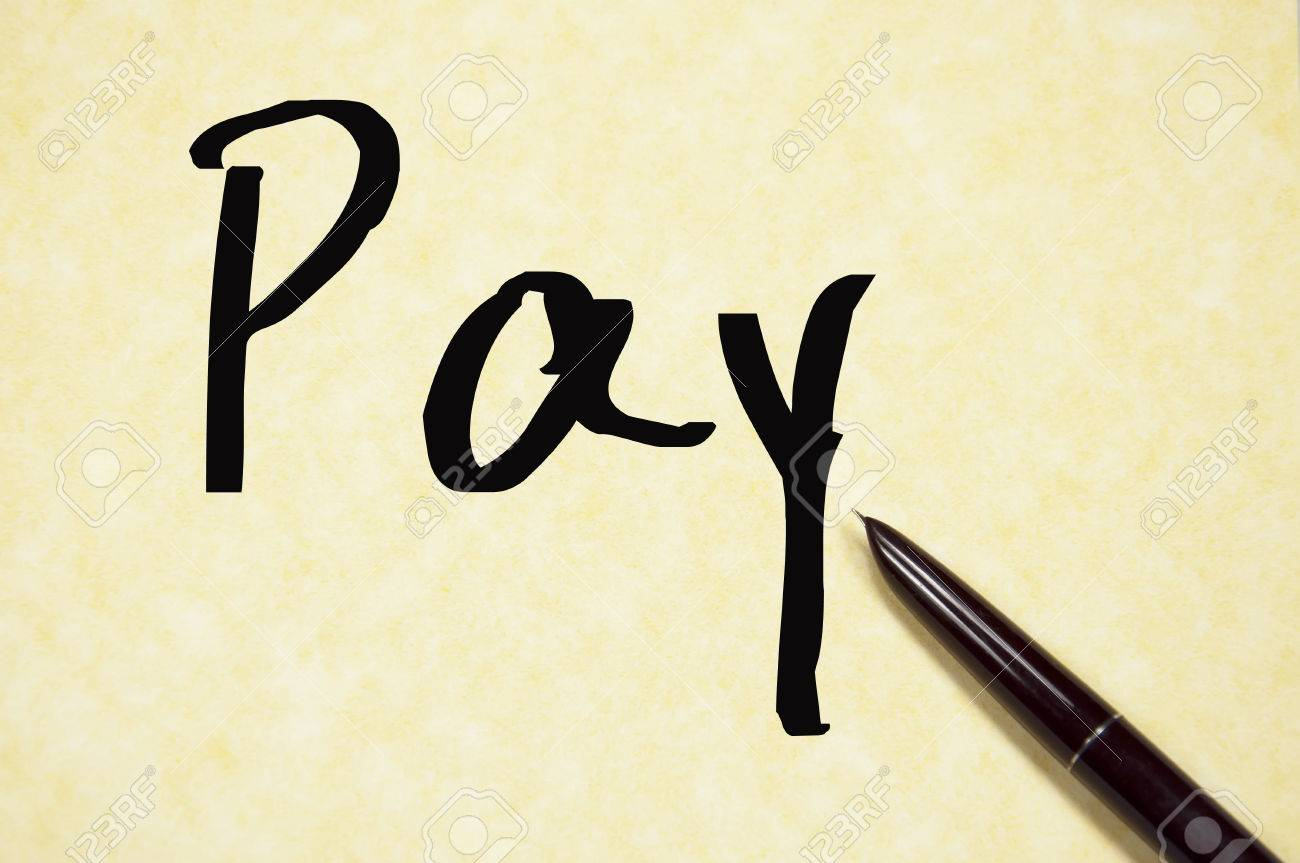 pay word write on paper stock photo picture and royalty stock photo pay word write on paper