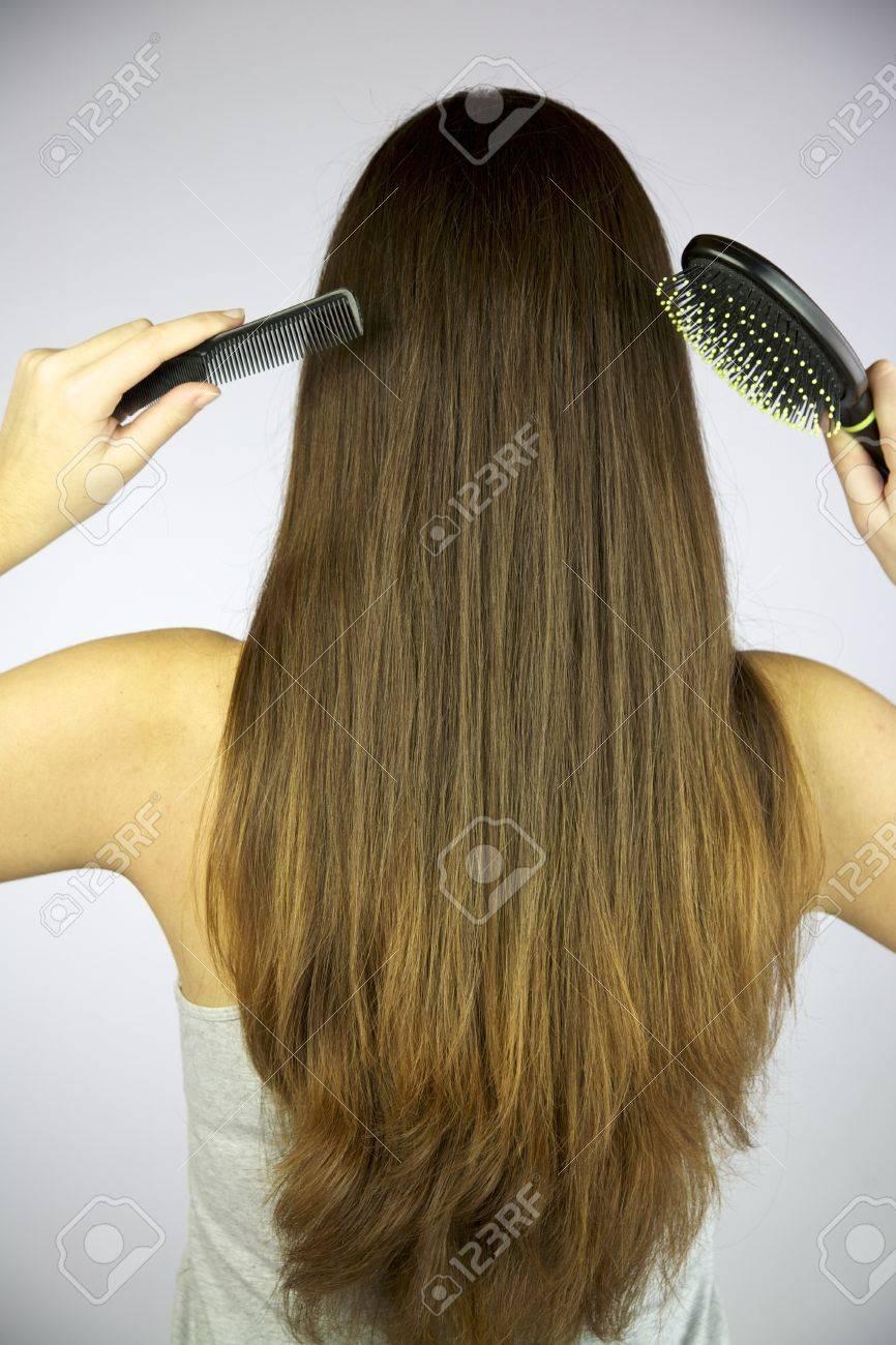 Стрижка волос клином