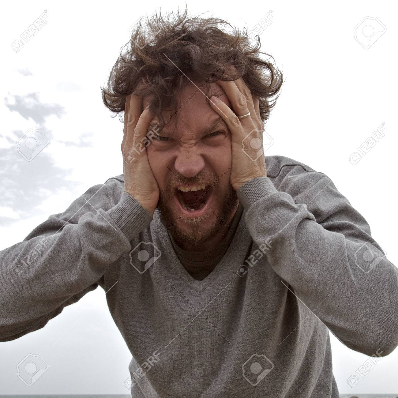 Desperate Man Shouting Asking For Help Stock Photo Picture And Royalty Free Image Image 30467627 Listen to desperate man on spotify. 123rf com