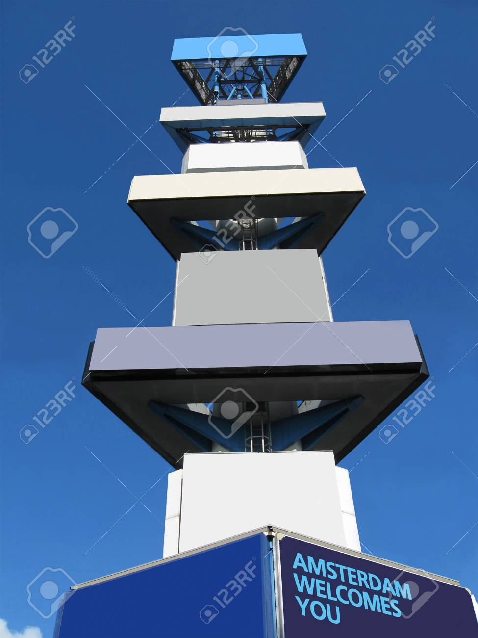stacks of empty advertising board Stock Photo - 12848579