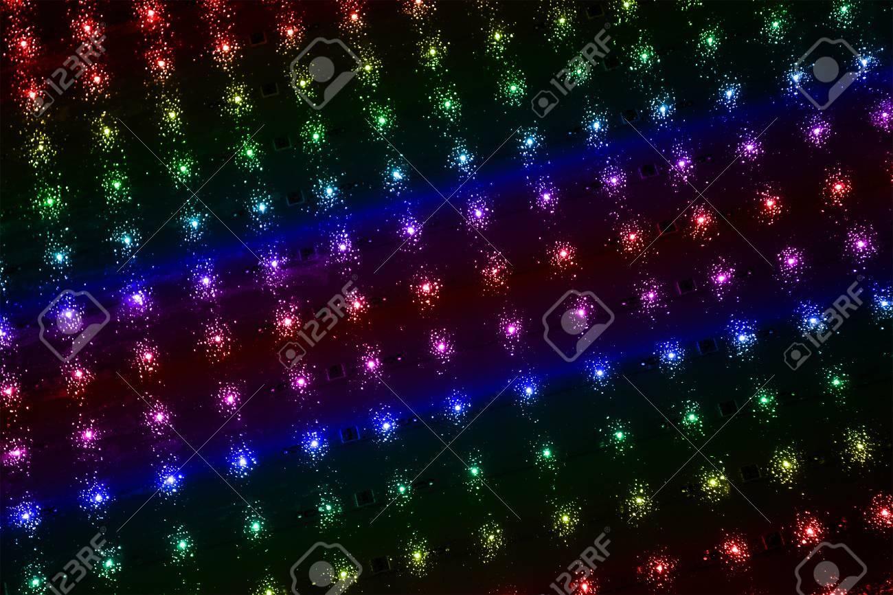 Discotheque Pouvoir Abstrait Arc En Lampes D Eclairage Les Details