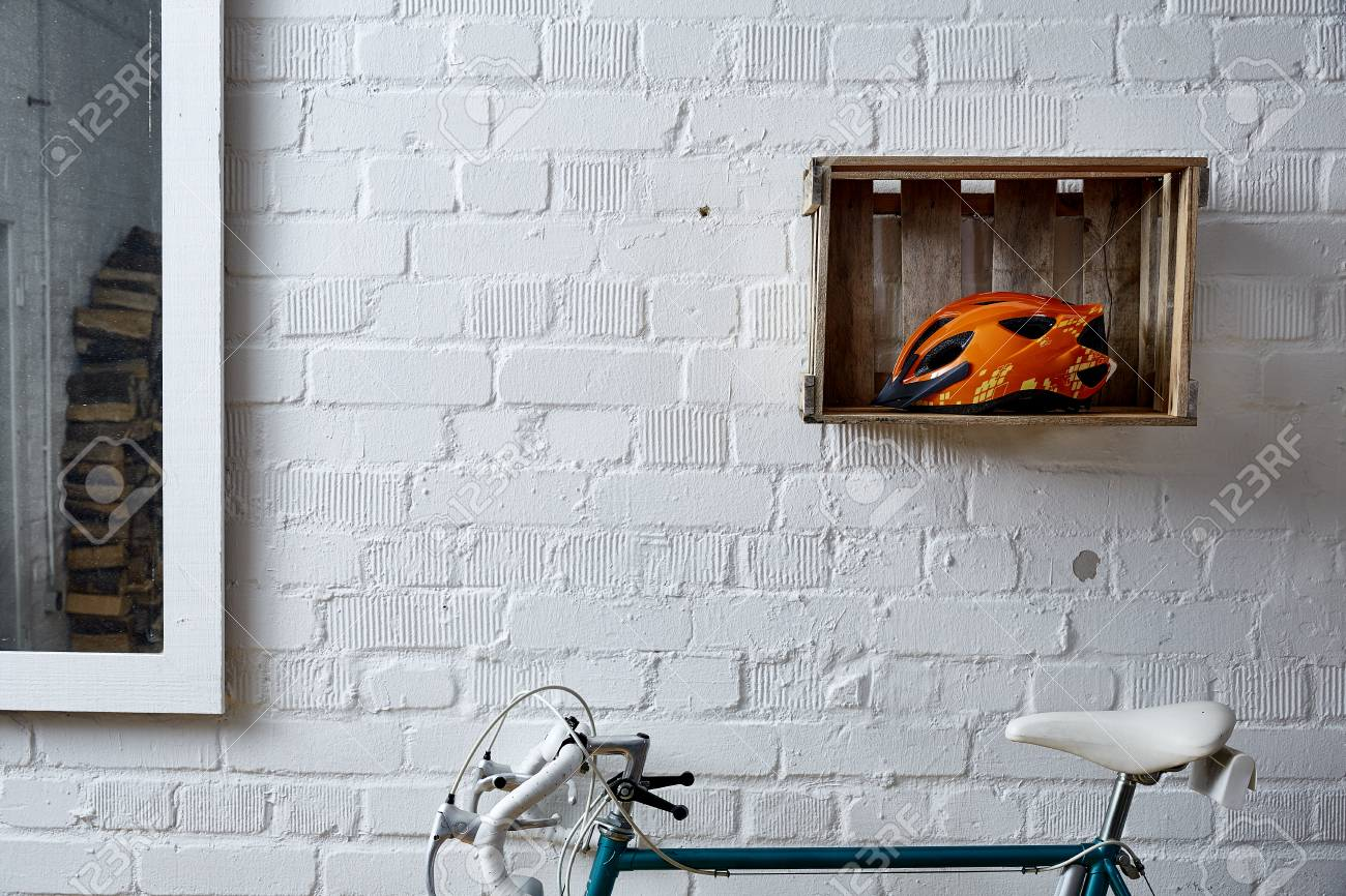 brickwall with decoration in studio