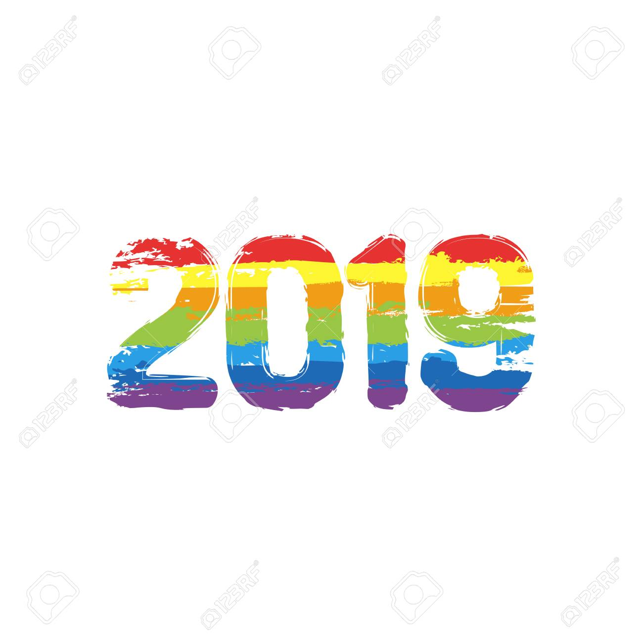 Happy New Year Orange 38