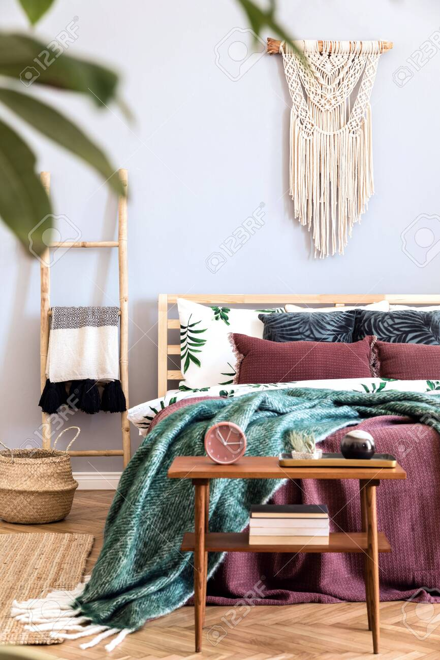 Modern And Luxury Interior Of Bedroom With Design Furnitures Stock Photo Picture And Royalty Free Image Image 122963855