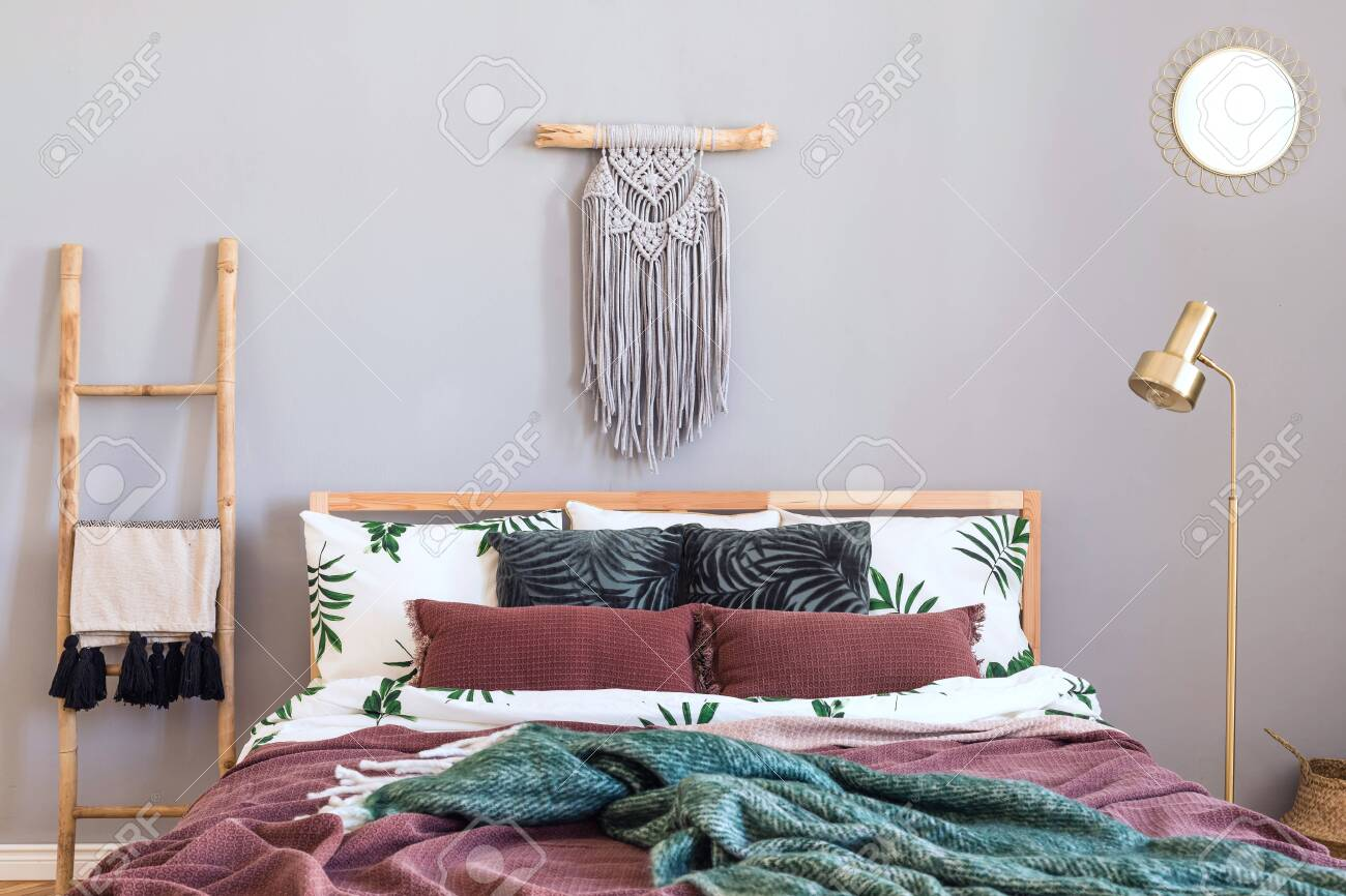 Modern And Luxury Interior Of Bedroom With Design Furnitures Stock Photo Picture And Royalty Free Image Image 122964473