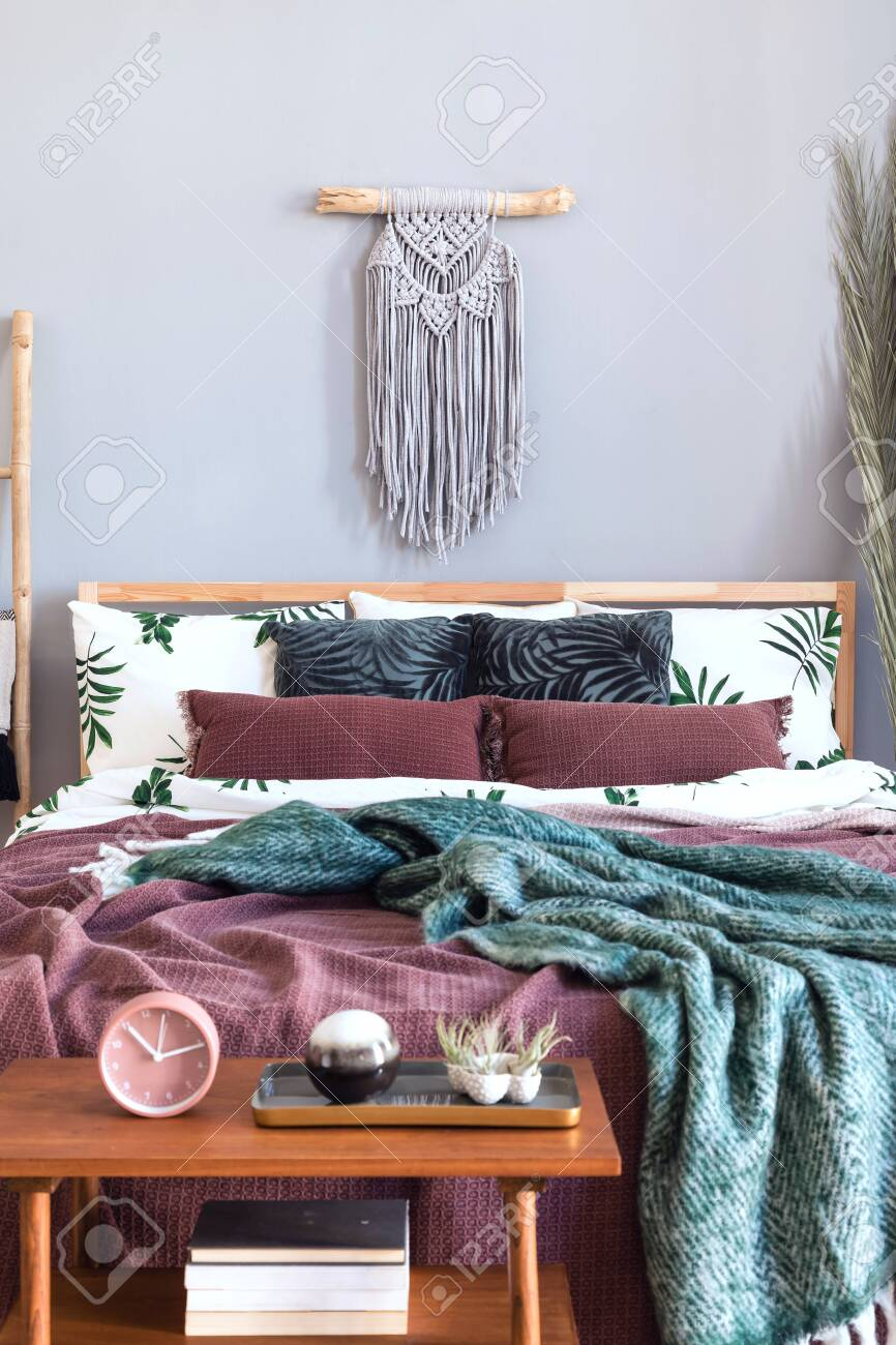 Modern And Luxury Interior Of Bedroom With Design Furnitures Stock Photo Picture And Royalty Free Image Image 122965281