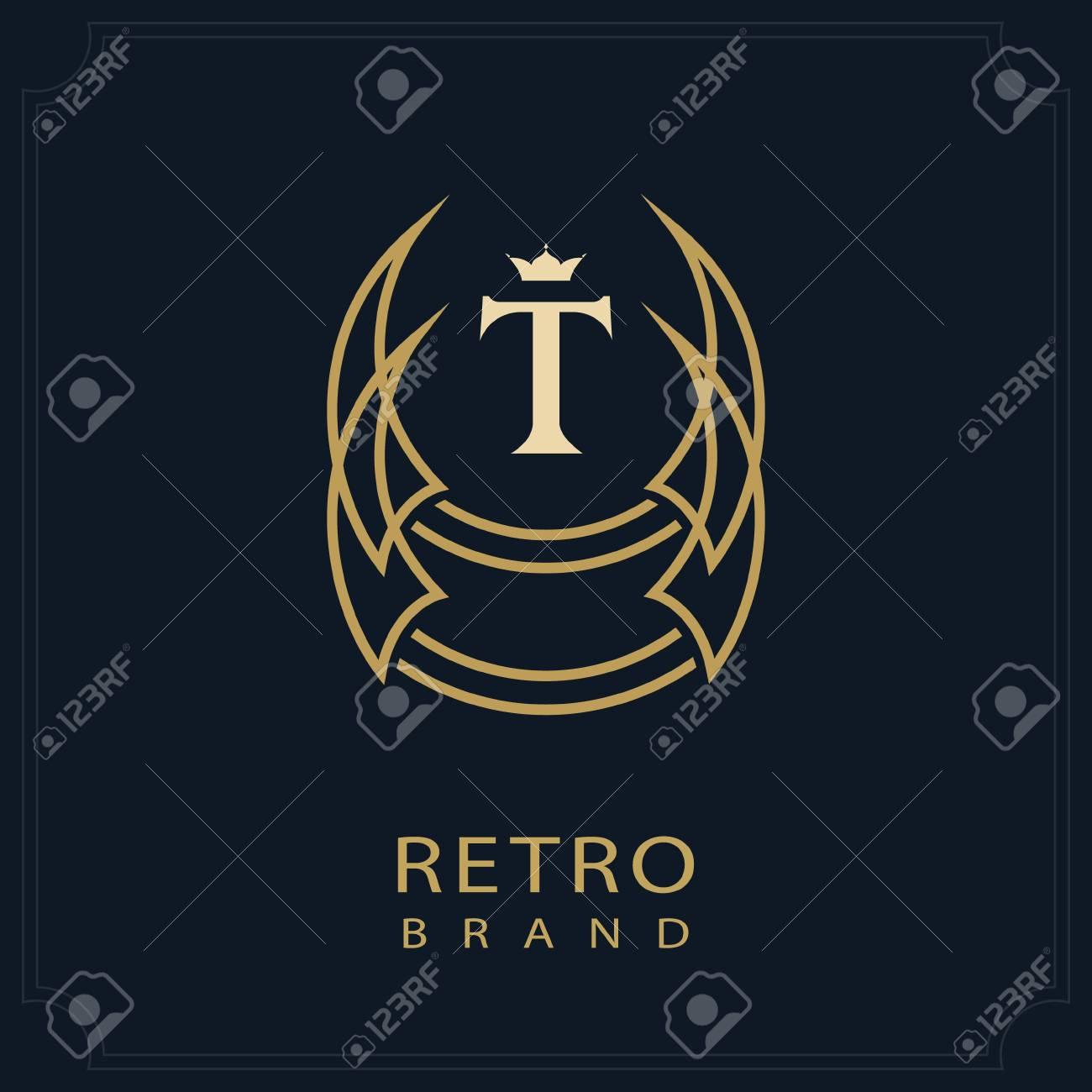 modern logo geometric initial monogram template minimal design