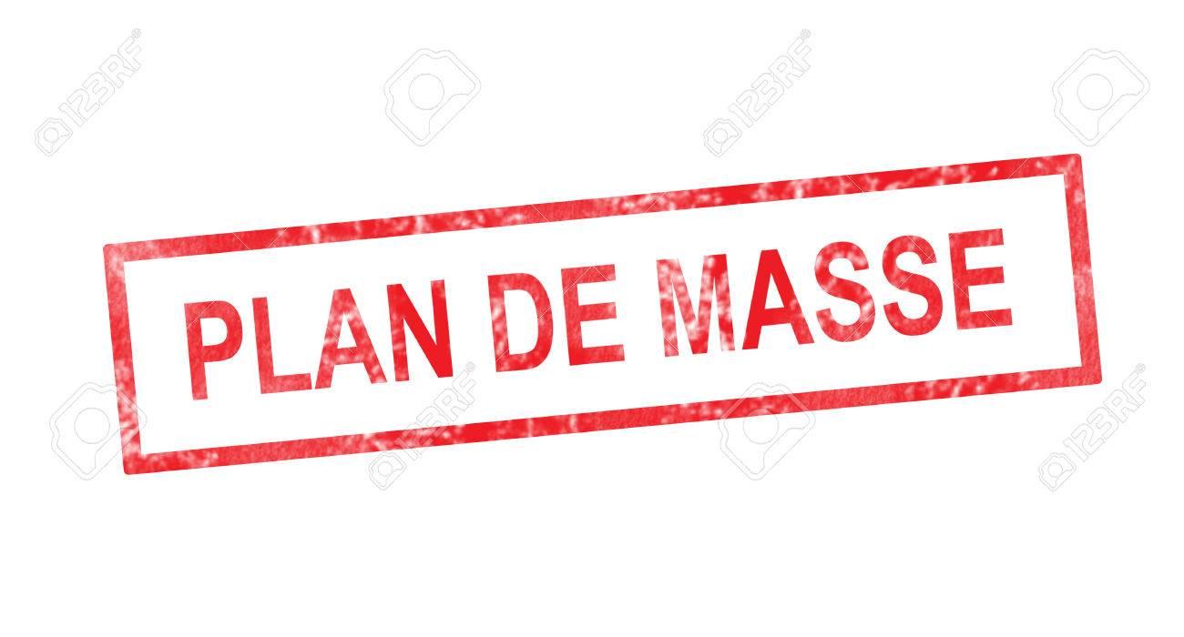 Plancher En Version Française En Timbre Rectangulaire Rouge Banque D ...