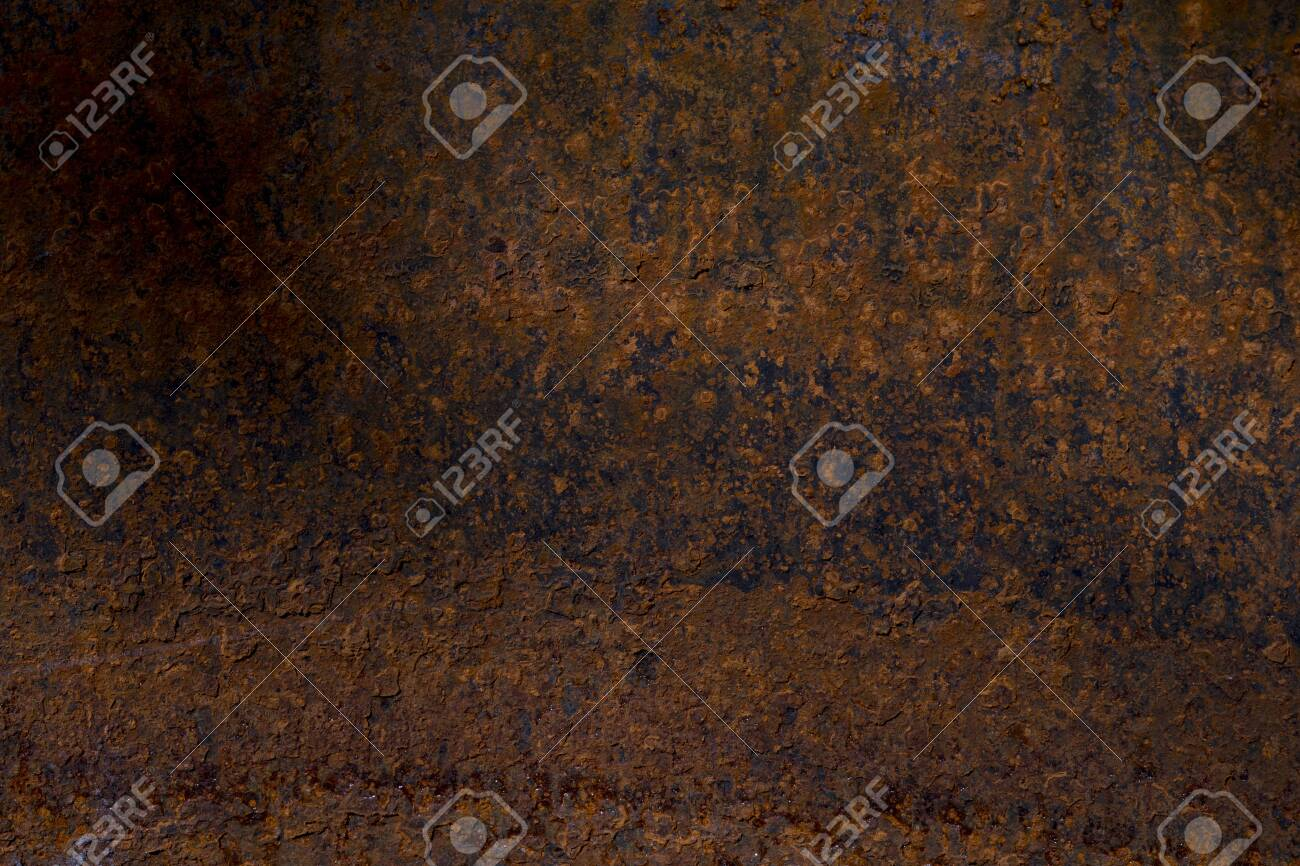 Metal old background. Metal surface rusty and coarse - 146688495