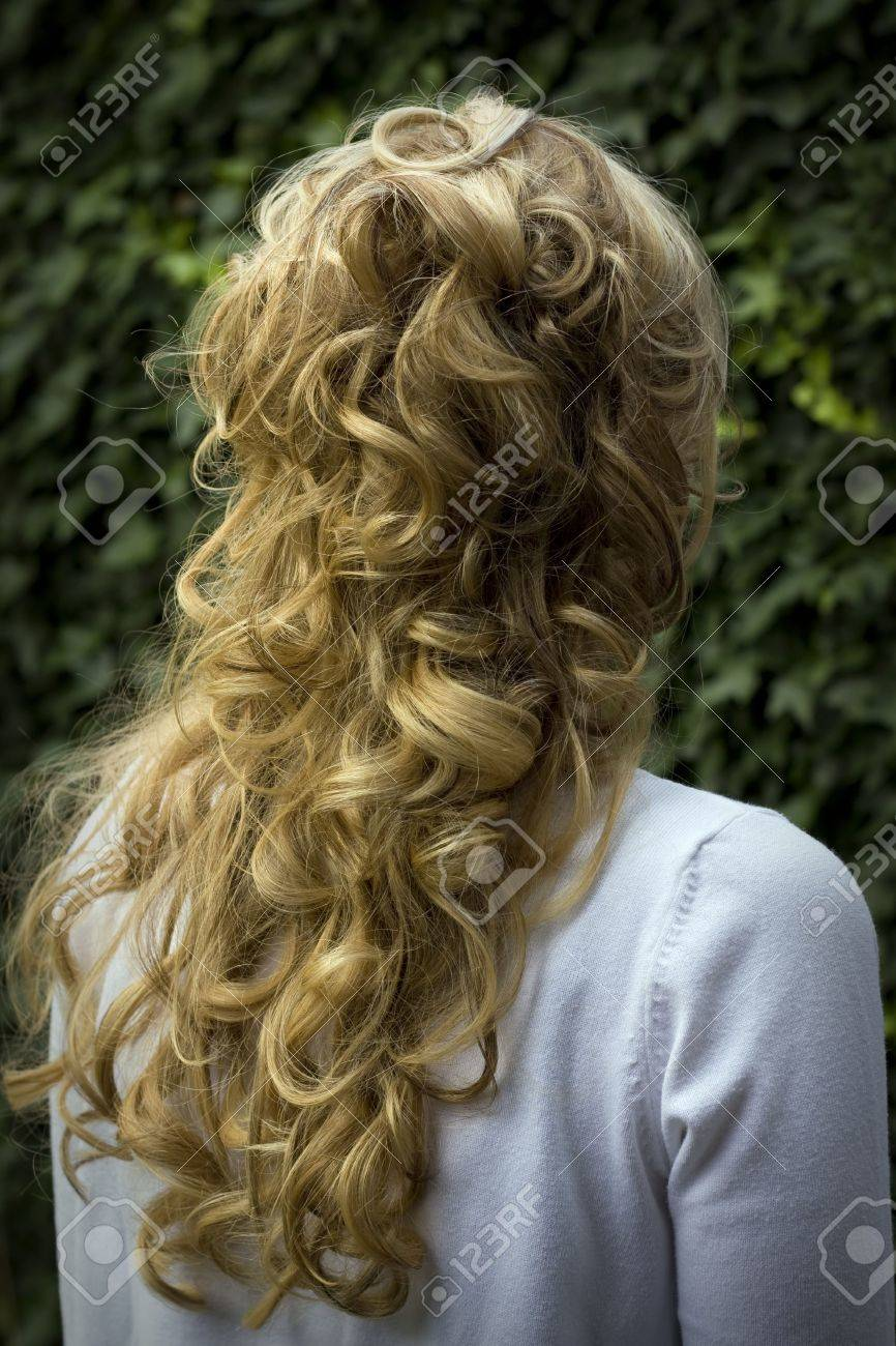 bach of the head of a woman Stock Photo - 5335796