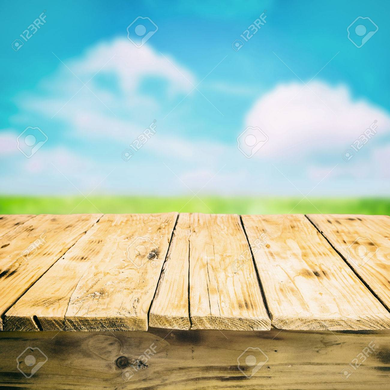 wooden table close up. close-up of an empty wooden table outdoors stock photo - 24936829 close up f