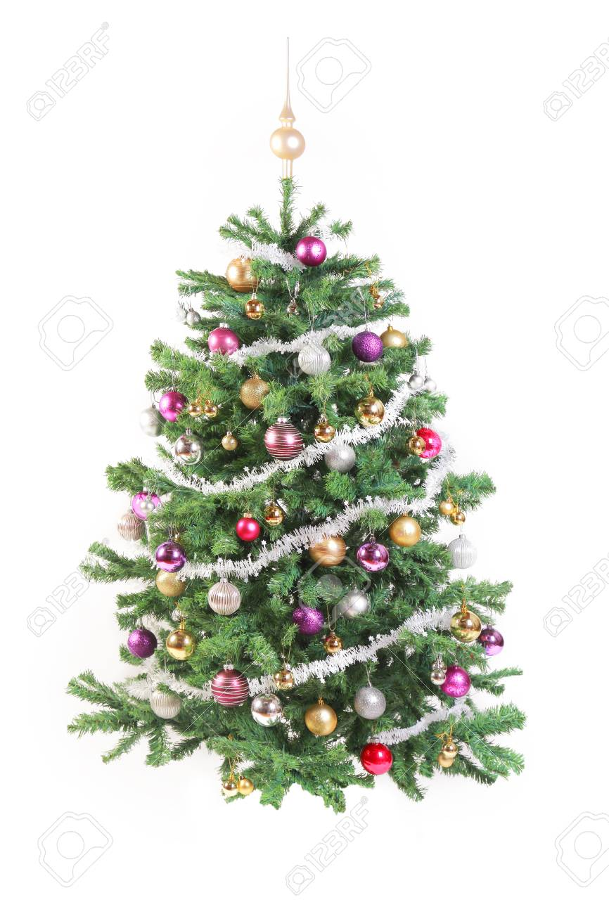 [Image: 33426414-decorated-christmas-tree-with-g...ground.jpg]