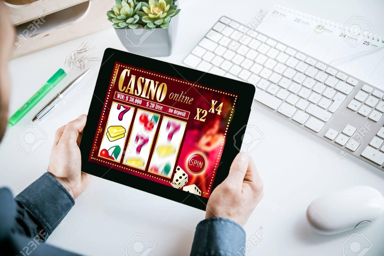 Online casino addiction operetta masked girl at casino